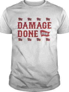 Damage done red shirt
