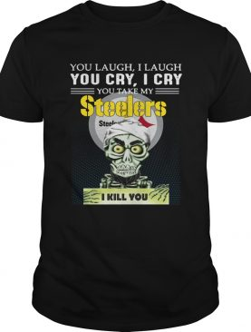 Jeff Dunham Achmed the Dead Terrorist laugh cry Pittsburgh Steelers I kill you shirt