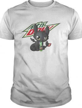 Night Fury Toothless Mtn Dew shirt