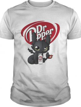 Night Fury Toothless Dr Pepper shirt