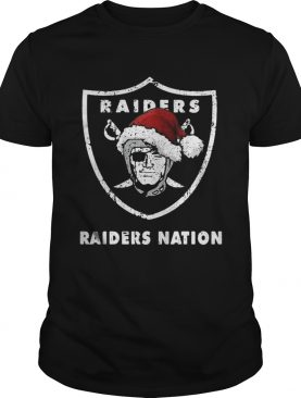 Santa Oakland Raiders Nation Christmas ugly sweater