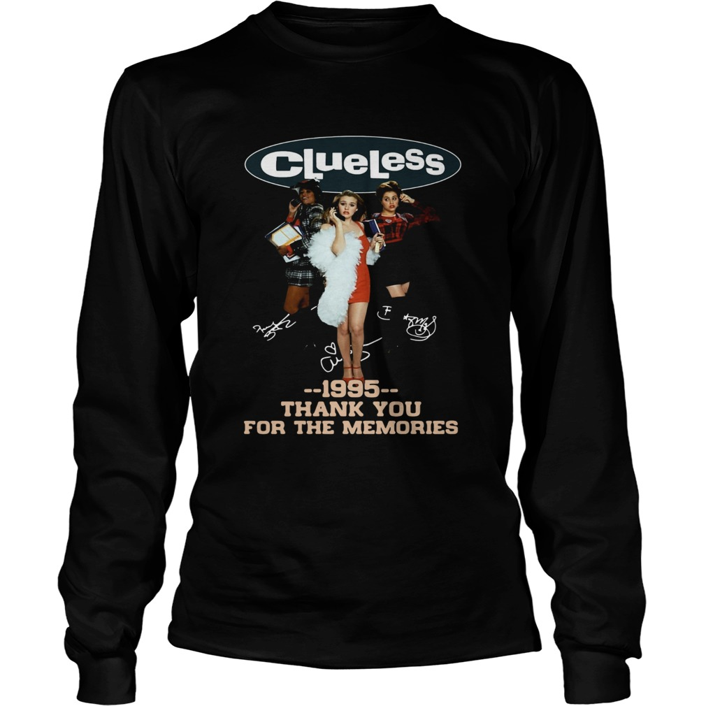 Clueless 1995 Thank You For The Memories Shirt LongSleeve
