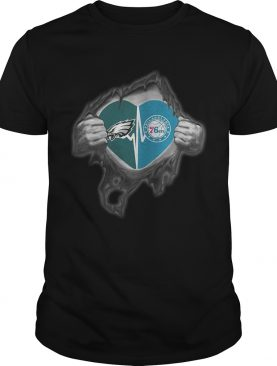 Eagles 76Ers Its in my heart inside me shirt