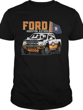 Ford Houston Astros Flag Baseball Team Fans Mustang Car Lovers Shirts