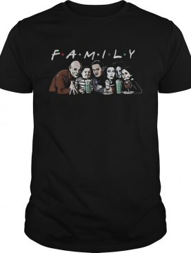 Horror family Friends TV Show shirt