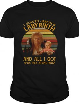 I solved Jareths Labyrinth and all I got was this stupid baby shirt