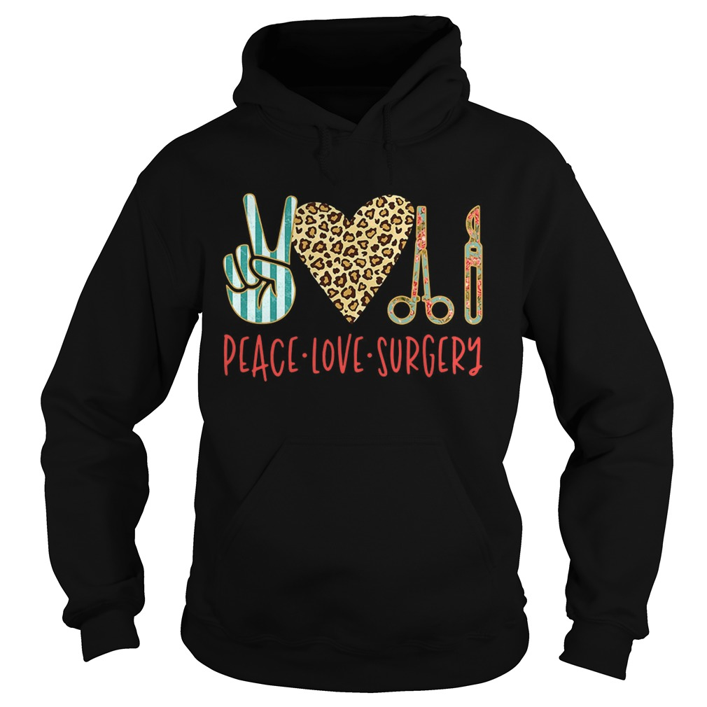 Peace love hair styling Hoodie