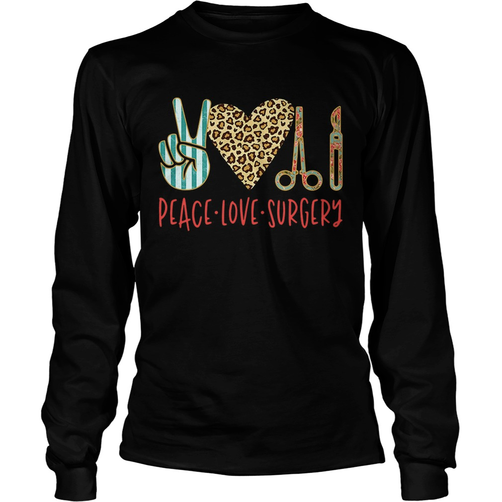 Peace love hair styling LongSleeve