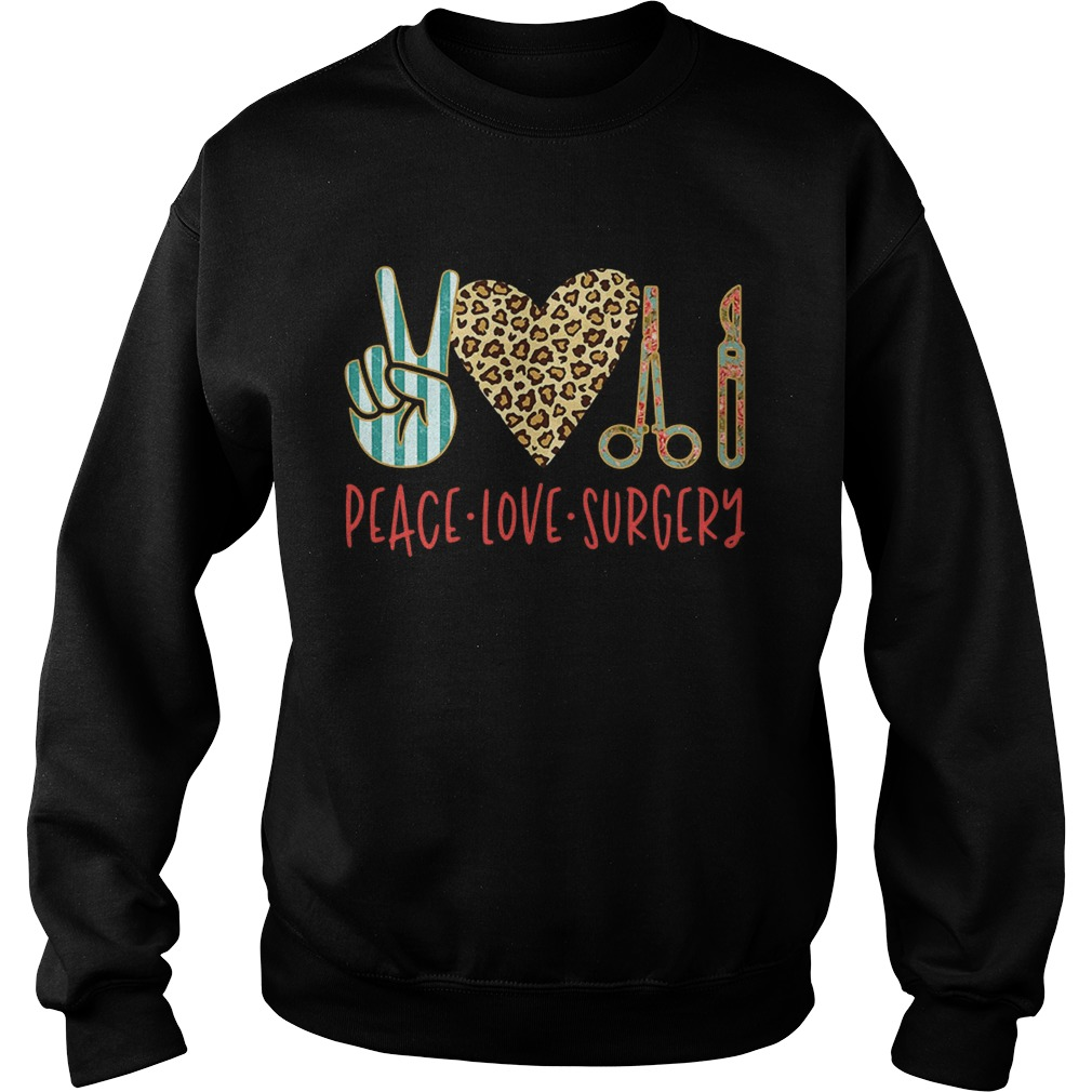 Peace love hair styling Sweatshirt