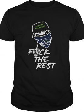 Seattle Seahawks fuck the rest football shirt