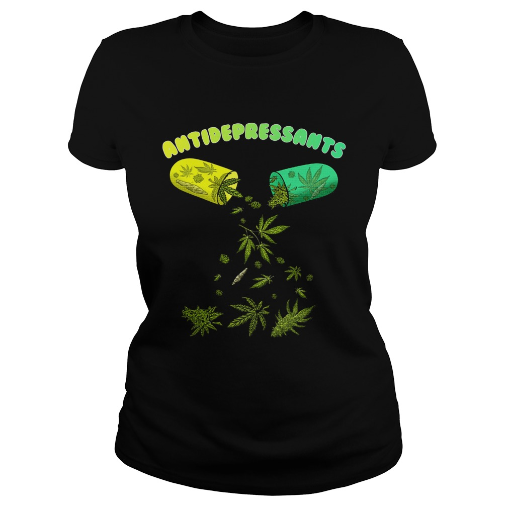 Antidepressants Weed Cannabis Classic Ladies