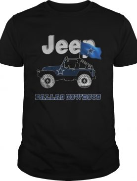Dallas Cowboys flag Jeep shirt