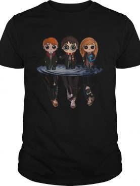 Harry Potter characters chibi water mirror reflection shirt