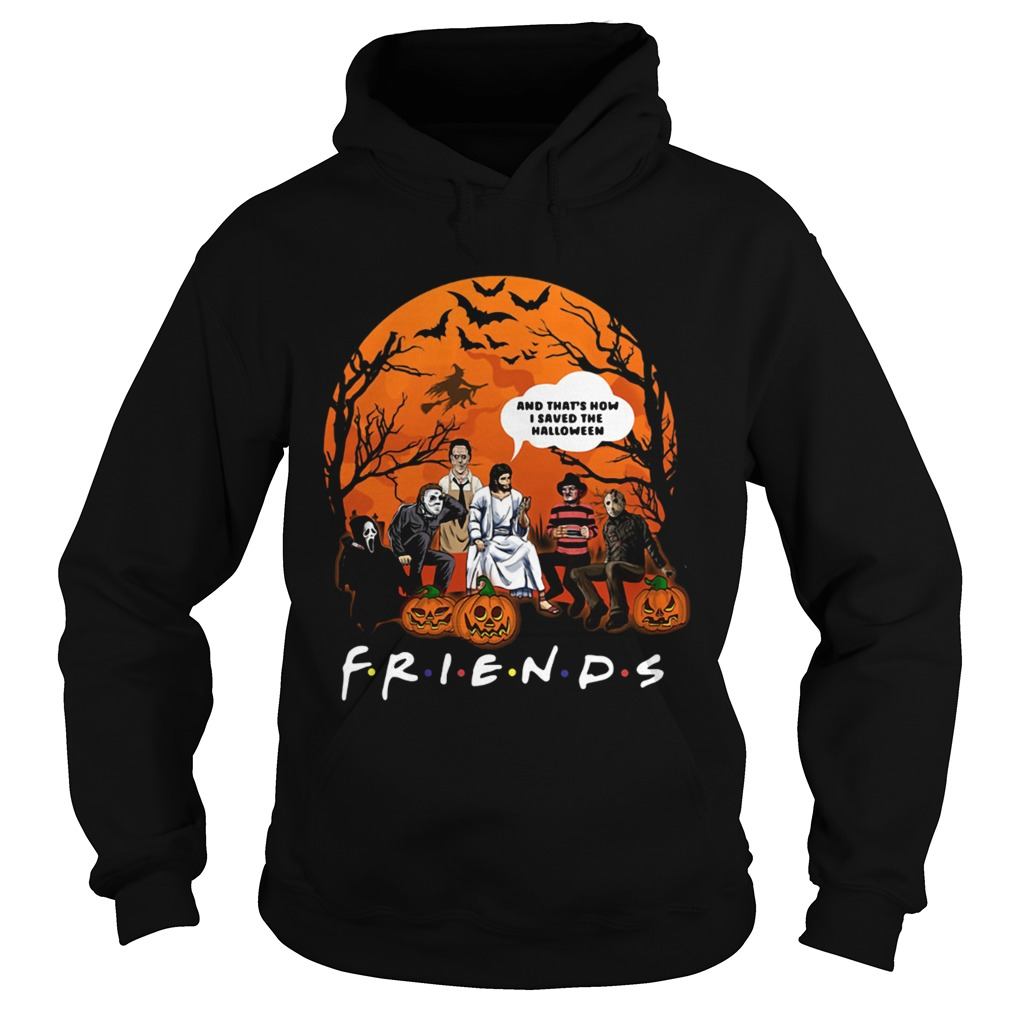 Jesus thats how I saved the halloween Horror characters Hoodie