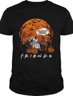 Jesus thats how I saved the halloween Horror characters shirt