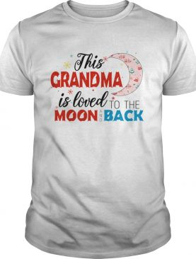 Christmas This Grandma Is Loved To The Moon And Back TShirt