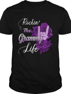 Rockin The Grammy Life Flower TShirt