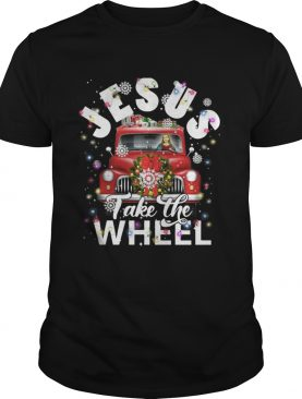 Jesus take the wheel Merry Christmas shirt