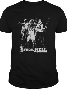 Rob Zombie 3 From Hell shirt