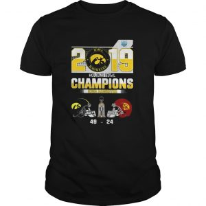 2019 Holiday Bowl Champions Iowa Hawkeyes shirt