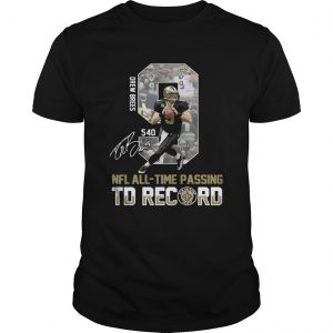 9 Drew Brees NFL AllTime Passing To Record Signature shirt