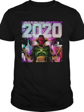 Marvel 2020 Vision shirt