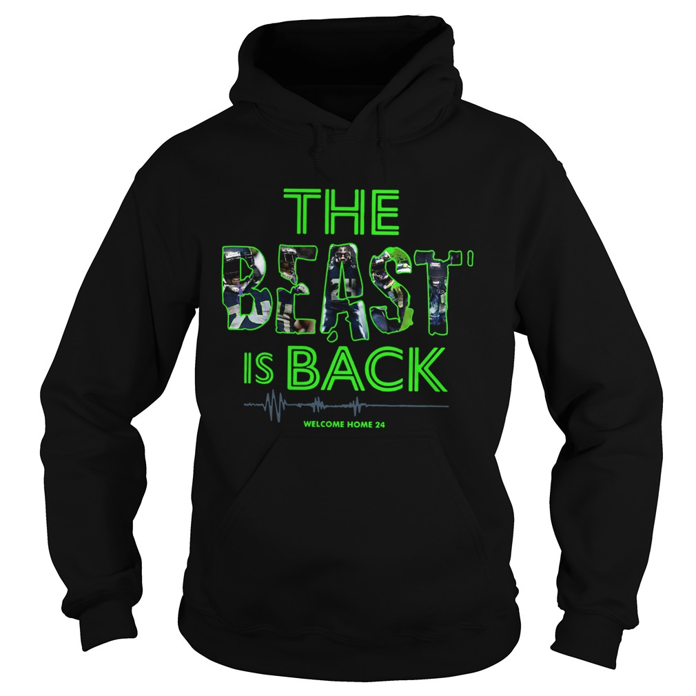 The Beast Is Back Welcome Home 24 Hoodie