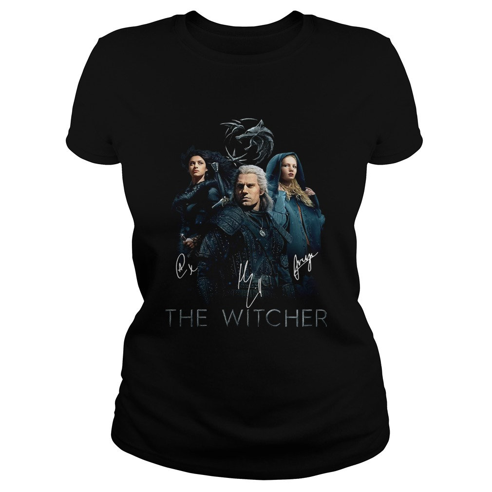 The Witcher Geralt Yennefer And Ciri Signature Classic Ladies