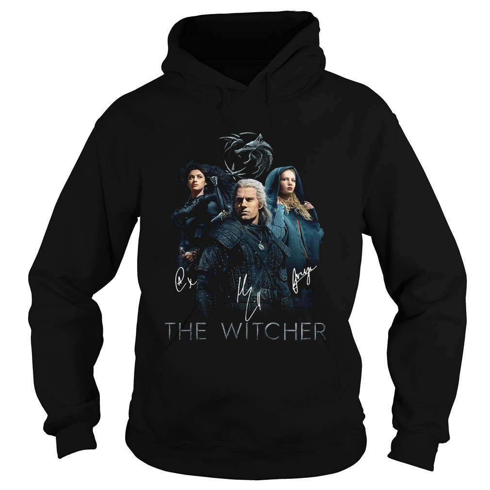 The Witcher Geralt Yennefer And Ciri Signature Hoodie