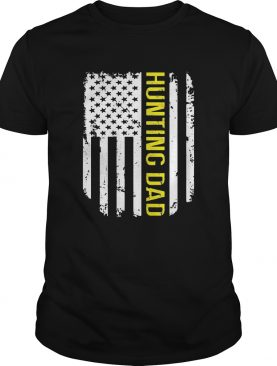 American Flag Proud Hunting Dad shirt