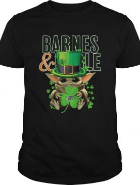 Baby Yoda Barnes And Noble Shamrock StPatricks Day shirt