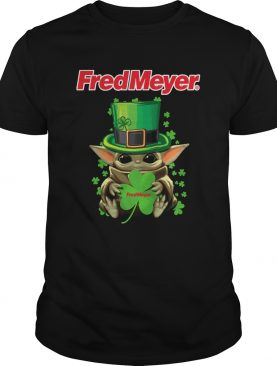 Baby Yoda Fred Meyer Shamrock StPatricks Day shirt