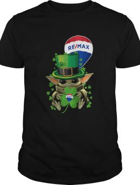 Baby Yoda Remax Shamrock St Patricks Day shirt