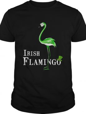 Irish Flamingo shirt