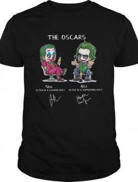 Joker The Oscars 92nd 81st actor in a leading role actor in a supporting role shirt