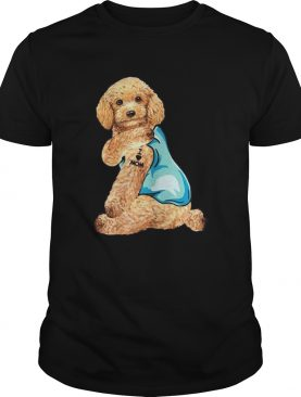 Poodle Tattoos I Love MOM Sitting Shirt Funny Gift Mothers Day shirt