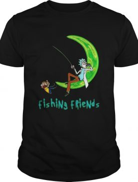 Rick And Morty Fishing Friends shirt