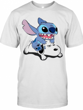 A Friend For Life Stitch And Snoopy T-Shirt