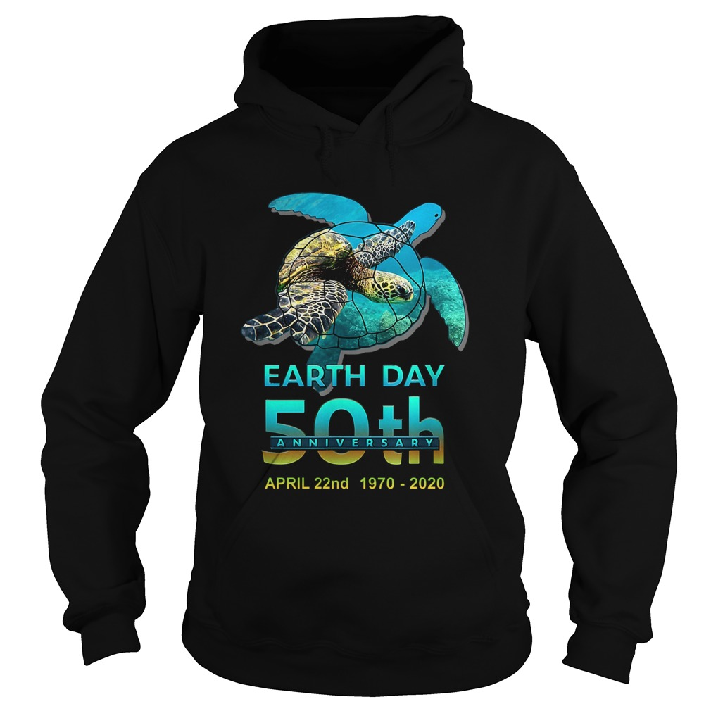 Earth Day 50th Anniversary April 22nd 1970 2020 Signatures Hoodie