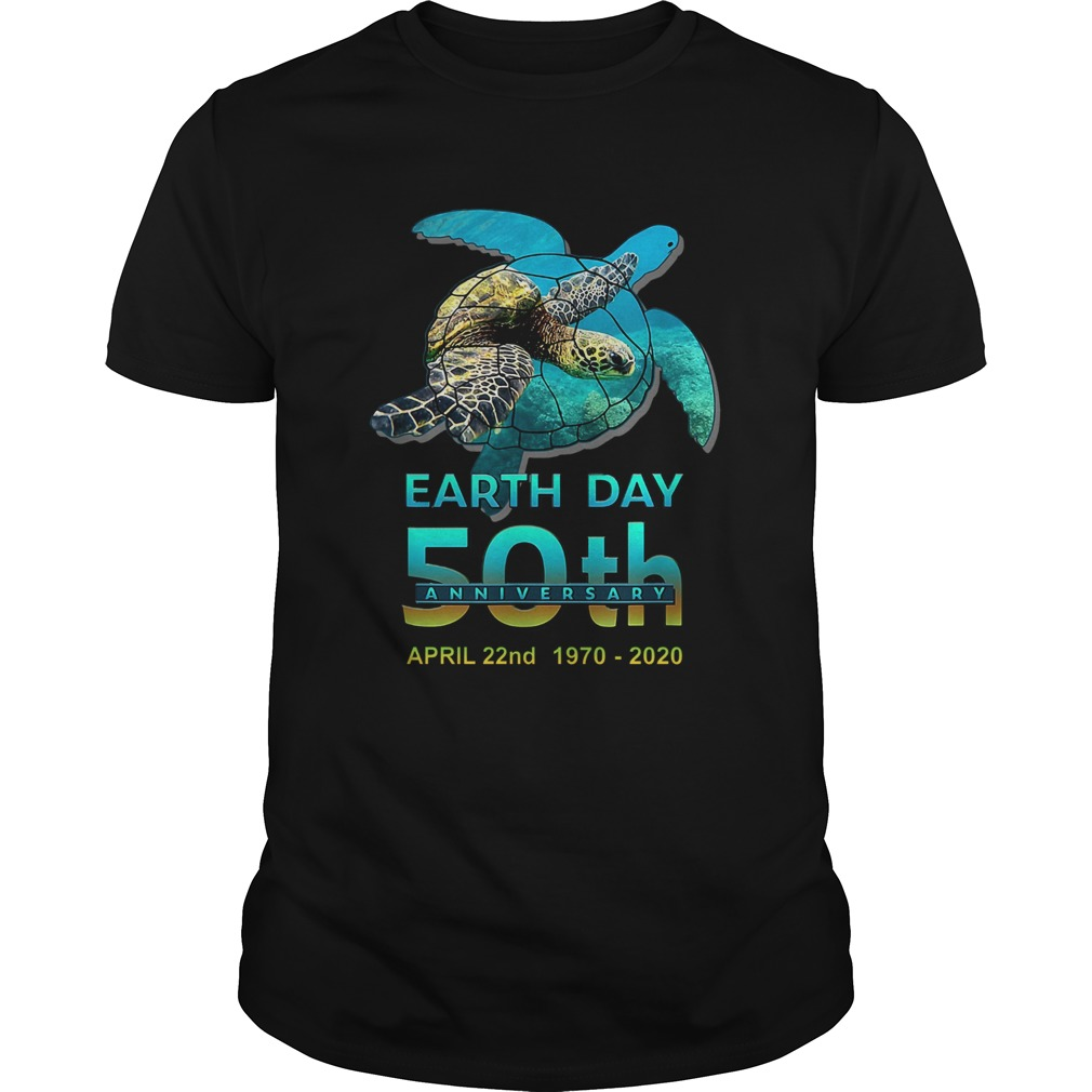 Earth Day 50th Anniversary April 22nd 1970 2020 Signatures Unisex