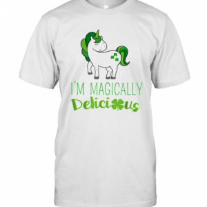 I'M Magically Delicious Unicorn St. Patrick'S Day T-Shirt