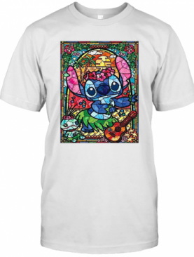 Stained Glass Style Dancing Stitch T-Shirt
