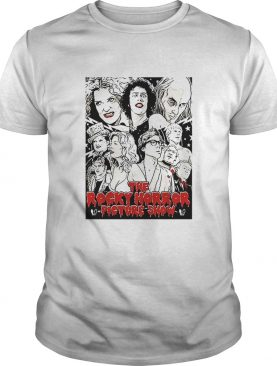The Rocky Horror Picture Show dazzling comic illustrations shirt
