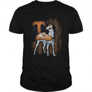 Beautiful Smokey Tennessee Volunteers American Flag shirt