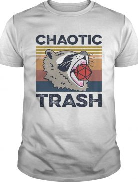 Chaotic Trash Game Raccoon shirt