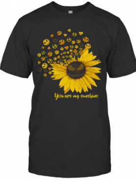 Jack Skellington Sunflower You Are My Sunshine T-Shirt