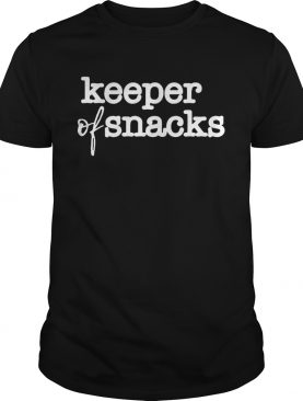 Keeper Of Snacks shirt