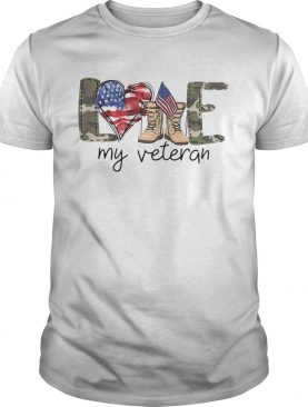4th Of July Love My Veteran shirt