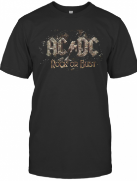 Acdc Rock Or Bust T-Shirt