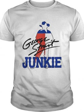 George strait junkie flag signature shirt